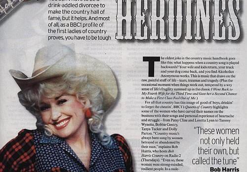 Country Music women - web