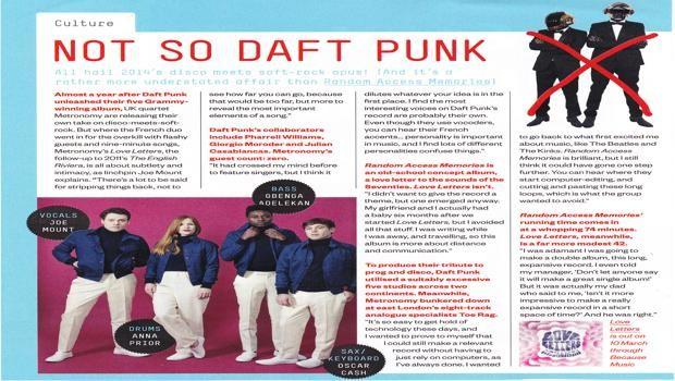 Metronomy - Esquire magazine 2